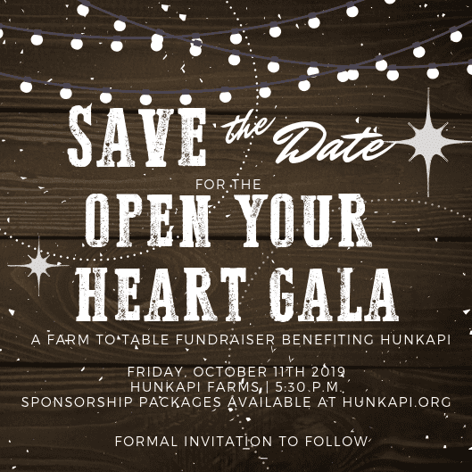 Save the Date. OYHGala2019